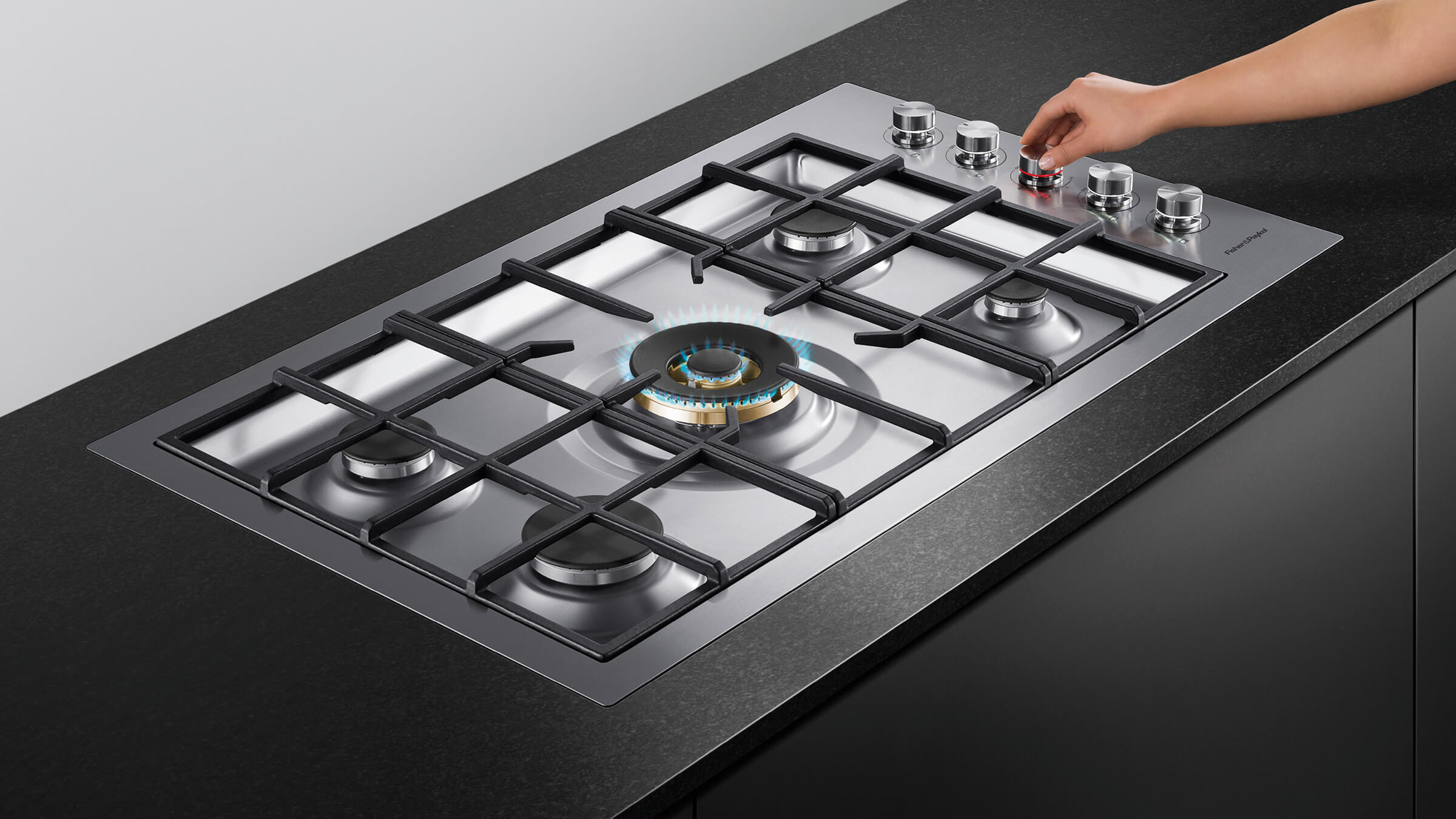 Fisher Amp Paykel Cg365dngrx2 N 36 Quot Natural Gas Cooktop